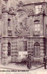Fontaine Gros Horloge