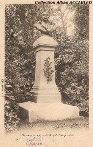 Statue Maupassant