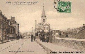 Eglise Saint Hilaire et Chemin de Fer