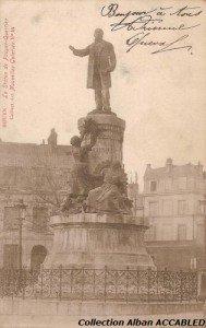 Statue Pouyer Quertier