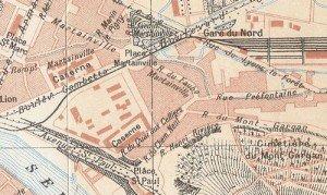 plan quartier Martainville
