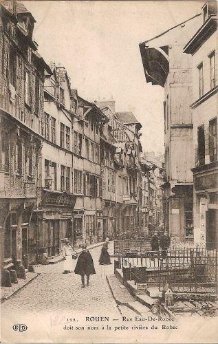 rouen 1900 187 archives du 187 rue eaux de robec